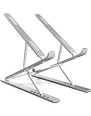 "ElfAnt Laptop Stand Adjustable Portable Aluminum for 10"" - 17"" Laptop Tablet"