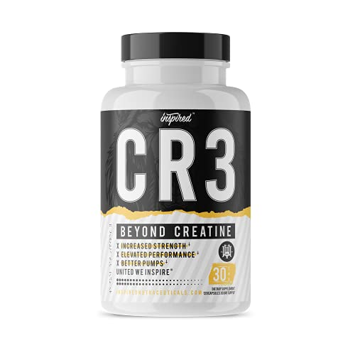 CR3 by Inspired Nutraceuticals | Elite Volumizer & Power Formula | Creatine HCL x Agmatine x AstraGin x ActiGin x CON-CRET