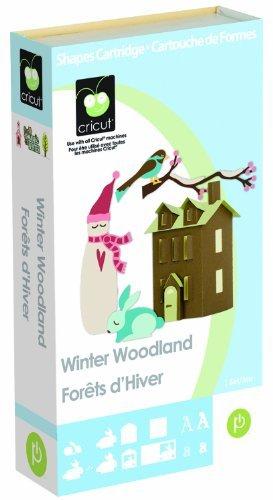Cricut Cartridge, Winter Woodland by Provo Craft & Novelty/ Cricut