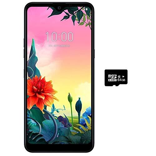 "LG K50S (32GB, 3GB) 6.5"" HD+ Display, MIL-STD 810G Certified, Global 4G LTE GSM Factory Unlocked LM-X540HM (AT&T, T-Mobile, Metro, Straight Talk) International Model (Black, 32GB + 64GB SD Bundle)"
