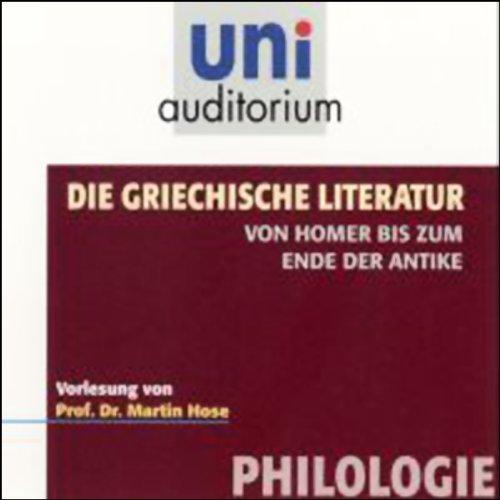Die griechische Literatur Titelbild