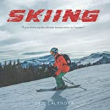 Skiing 2022 Calendar: Mini Calendar 2022 with Large Grid for Note - To do list, Gorgeous 7x7   Small Calendar, Non-Glossy Paper