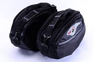 Bestem LGKA-NOMAD-SDL-R Black Regular Saddlebag Liners for Kawasaki Vulcan Nomad, Pair