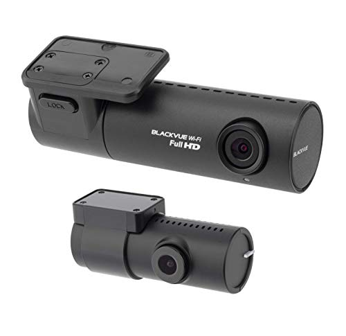 BlackVue DR590X-2CH (32 GB) UK Edition - Full HD Front and Rear Dash Cam with Smooth 30fps Video, Wi-Fi, Intelligent Parking Mode, Smartphone App and Desktop Viewer for PC/Mac