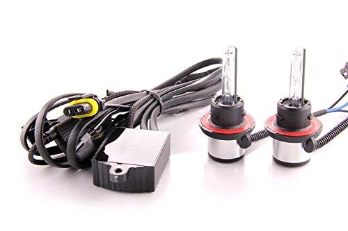 DDM Tuning Ultra HID Bi-Xenon Bulbs,w/Harness, OEM Quality, 20% Brighter, H13 / 9008 5500K Pair