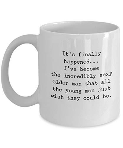 Man koffiemok door Millionaire Momenten, Cool Gadgets voor papa, Grumpy Old Man, Grappige oude man geschenken, Vaderdag Gift Ideeën