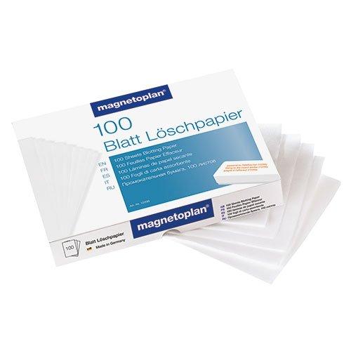 magnetoplan 12296 ferroscript-Löschpapier, 100 Stück