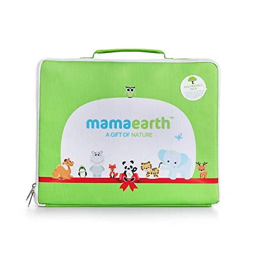 Mamaearth Gift of Nature Gift Pack with 7 Everyday Essentials for Newborns and Babies, New Born 0+ Months