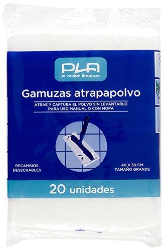 PLA Gamuza Atrapapolvo, Set de 20 Unidades