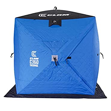 Clam 114475 C-360 Thermal 6x6 Hub Shelter, One Size