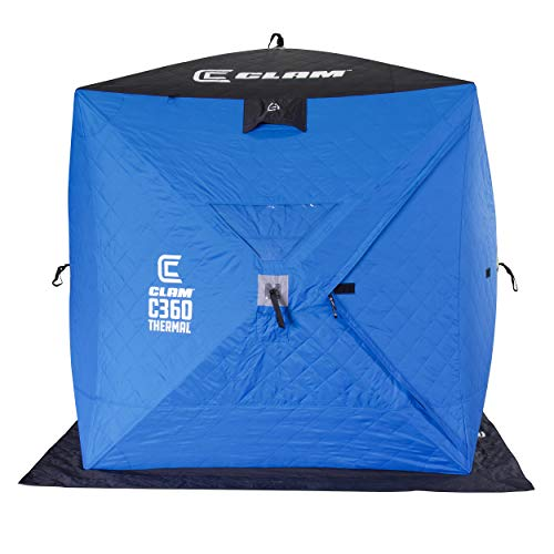 Clam 114475 C-360 Thermal - 6x6 Hub Shelter, One Size