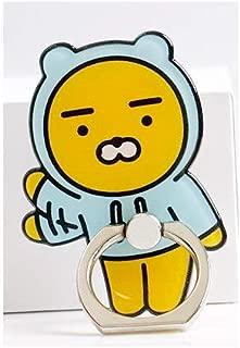 Kakao Friends Kickstand 360° Rotate Freely - Ryan Kakao Friends Cartoon Cute Anti-Fall Metal Finger Ring Mobile Phone Support