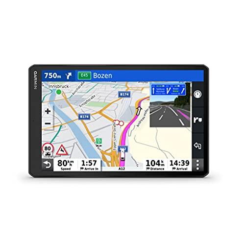 Garmin Camper 1090, navegador GPS de 10' para autocaravanas, Mapa Europa, tráfico Digital y navegación por Voz