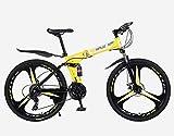 Vélos Pliants VTT VTC De Route BMX Ville Cruiser Enfants Cycling-Equipment étudiant Adulte 26 Pouces, Utilisation en Hauteur 160-185CM (26 inch / 27 Speed,B)