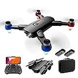 JJDSN F6 GPS Drone con cámara 4K HD para Adultos, 5Ghz FPV Live Video Camera RC Quadcopter, 50 Minutos de Tiempo de Vuelo, Sígueme, Regreso automático a casa, Waypoints, Flujo óptico, Modo sin Cab