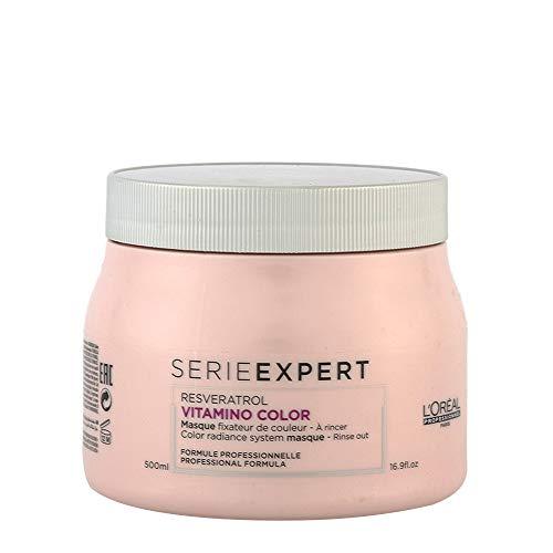 L\'Oréal Professionnel Serie Expert Vitamino Color A.OX Gelmaske für geschmeidig weiches, glänzendes Haar mit dynamischen Farbreflexen, 1er Pack (1 x 500 ml)