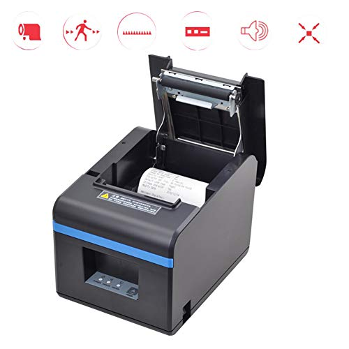 Learn More About XXLLQ 80mm Thermal Receipt POS Printer, Ethernet LAN Port Cash Drawer Port Printer ...