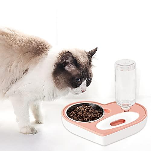 vostrella Comedero Automático para Mascotas,2 in 1 Comedero y Bebedero Automático para...