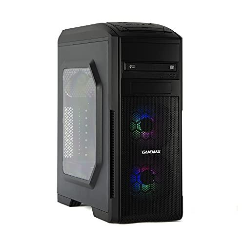 MAK PROFESSIONAL - PC Desktop Intel i7 10700 8Core 4,80GHz Turbo,SSD NVMe 500GB,RAM 16GB DDR4,COMPUTER DA Ufficio WIFI,CD-DVD-WINDOWS 10,Pc assemblato I7 Per Commercialisti