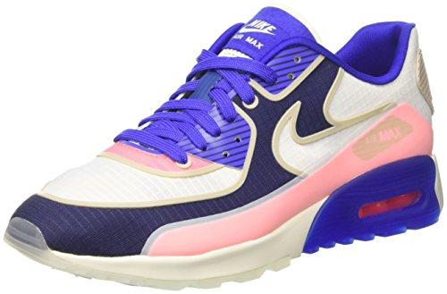 Nike Wmnsair Max 90 Ultra 2.0 Si, Sneakers Basses Femme, Multicolore (Sail/sail/Paramount Blue/Binary Blue), 39 EU