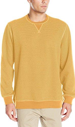 IZOD Herren 45FK111 Sweatshirt, Ocker, Klein