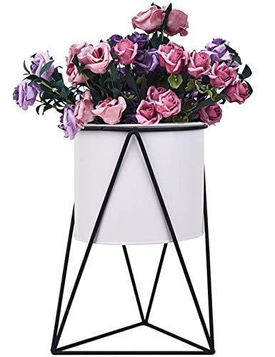 GYAO-étagères à fleurs Nordic En Fer Forgé Fleur Stand Plancher Décoration Fleur Vert Stand Intérieur Fleur Stand Seul Bureau En Plein Air Décoratif Cadre Jardin