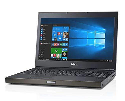 Dell Precision M4800 15,6 Zoll 1920x1080 Full HD Intel Core i7 512GB SSD Festplatte 32GB Speicher Windows 10 Pro Tastaturbeleuchtung Webcam Nvidia Quadro (Generalüberholt)