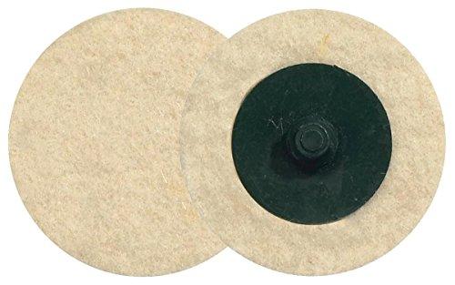 """Walter Twist Felt Disc, 2"""" Diameter, 30000 Maximum RPM (Pack of 25)"""