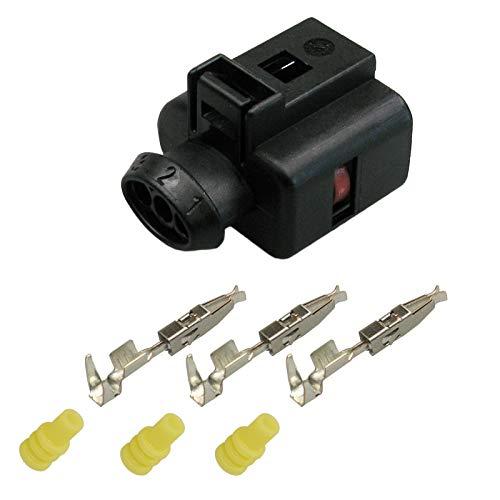 3D0 973 703 Reparatursatz 3-pol. Stecker Steckverbinder Connector OEM 3D0973703