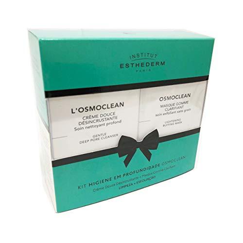 Esthederm Kit Higiene Em Profundidade Osmoclean Crème Douce Désincrustante 75ml + Masque Gomme Clarifiant 75ml