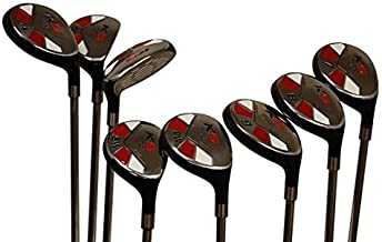 Senior Ladies Golf Clubs All Hybrid Set 55+ Years Womens Right Hand Majek Lady Full True Hybrid Complete Rescue Set #3 4,5 6 7 8 9 PW. Lady Flex Right Handed New Easy Oversized Club