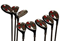 Women's Senior Golf Clubs - Majek Hybrid Golf Clubs