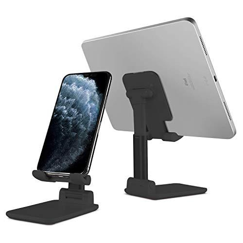 Soporte plegable para teléfono móvil, soporte para teléfono móvil, soporte ajustable para iPhone, tabletas, multiángulo, soporte de teléfono para iPhone