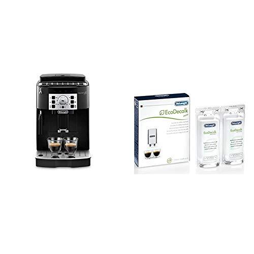 De'Longhi Magnifica S Ecam 22.110.B - Cafetera superautomática, 15 bares de presión, 13 programas ajustables, auto-limpieza + De'Longhi Ecodecalk - Mini descalcificador universal
