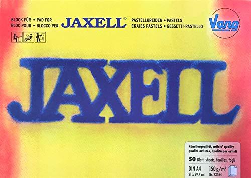 Vang Jaxell 33064 - Block für Pastellkreiden in Künstlerqualität - DIN A4 (21 x 29,7 cm) 150g/m² - 50 Blatt