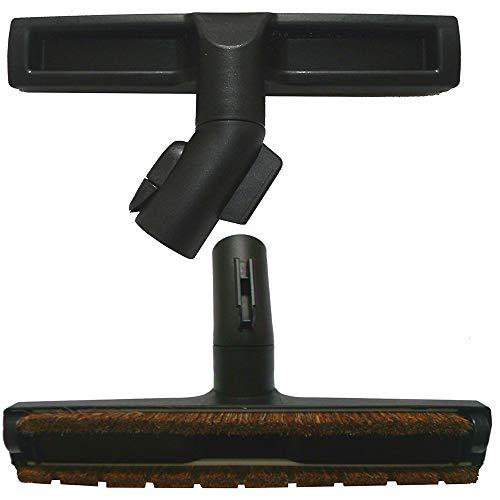 Maxorado Brosse pour sols durs - Poils naturels - Brosse pour parquet - Brosse d'aspirateur - Fonction parquet - Compatible avec la brosse d'aspirateur Miele - Brosse de rechange - Brosse Eco Power