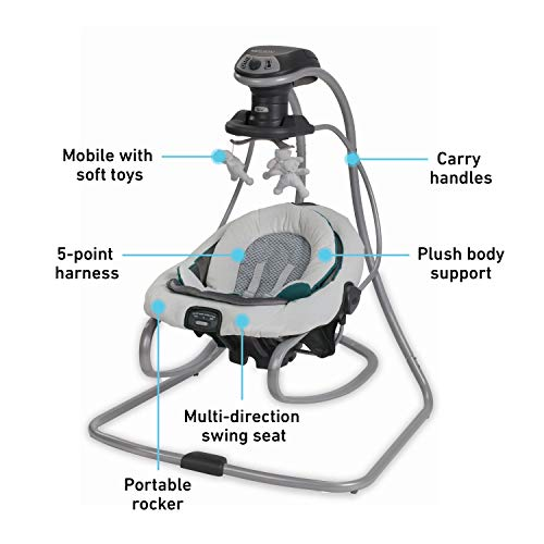 41eR9J1 aGL The Best Baby Swing with Lights and Music in 2021
