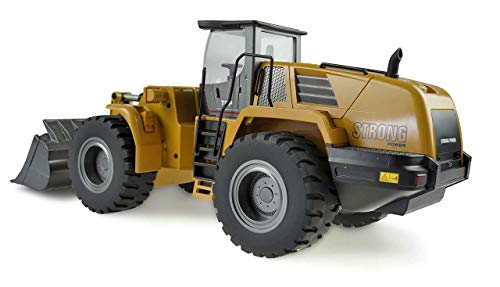 RC Auto kaufen Spielzeug Bild 5: Amewi 22343 Radlader 1:14, RTR, 10-Kanal, Ocker*