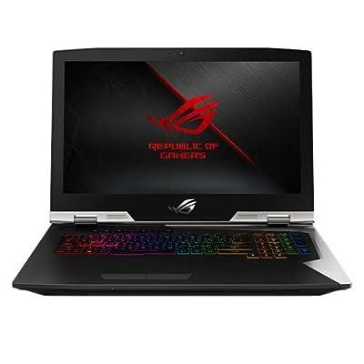 "ROG G703GX Desktop Replacement Gaming Laptop, GeForce RTX 2080, 17.3"" FHD 144Hz G-SYNC, Intel Core i9-8950HK Processor, 32GB DDR4, 1.5TB PCIe SSD (RAID 0), Per-Key RGB, Windows 10 Pro - G703GX-XS98K"
