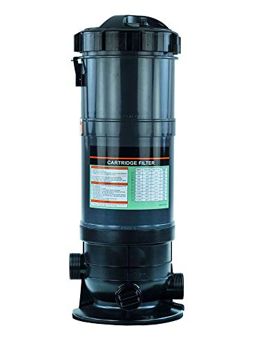 Rx Clear Radiant Cartridge Pool Filter for Above Ground Swimming Pools   PRC90   Pools up to 40,000 Gallons   Energy Efficient   Corrosion Proof   Filter Cartridge Included