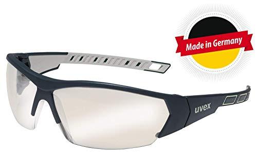 Uvex I-Works Anti-Fog RT Schutzbrille - Silber Verspiegelt/Schwarz-Grau