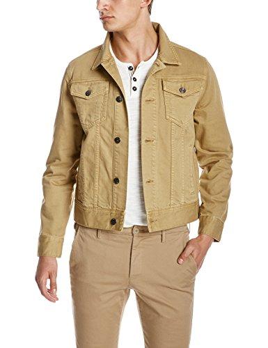 Quality Durables Co. Men's Regular-Fit Jean Jacket XL Khaki