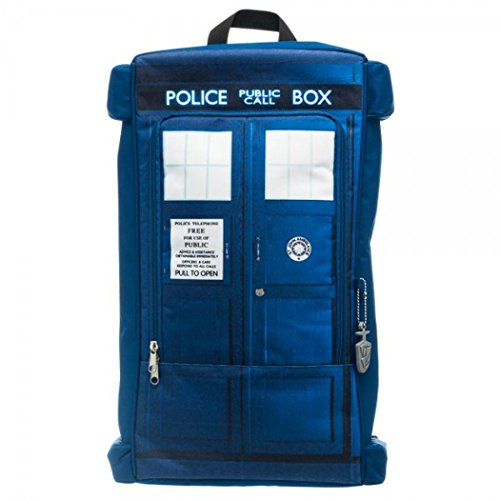 Doctor Dr. Who Tardis Call Box Backpack