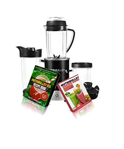 NutriBullet RX Blender: 2 Manuscripts: Nutribuulet Recipe Book + Nutribullet RX Recipe Book (total of 100+ recipes)