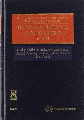 Tratado de Derecho de Sucesiones ( 2 Tomos ) ; NOTA: el Precio incluye los 2 Tomos: Tratado de Derecho de Sucesiones (Tomo I) - (Código Civil y ... 1 (Estudios y Comentarios de Legislación)