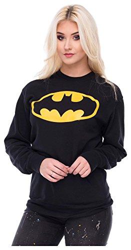 Sweater Batman Pulli Damen Superman S Zeichen Pullover Sweatshirt Superhelden Comics Halloween Kostüm Karnevalskostüme Karneval Fasching S