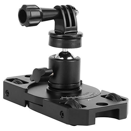 DAUERHAFT Estabilizador de cámara de acción Estabilizador de Escritorio Estabilidad automática Carro de fotografía para la Serie Gopro Adecuado para Varias cámaras Deportivas para Osmo Action