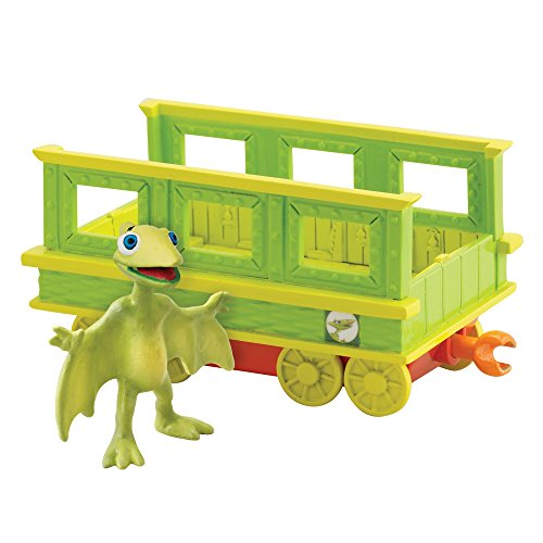 Tomy Dino Train - LC53002MP - Figurine - Tiny et son Wagon