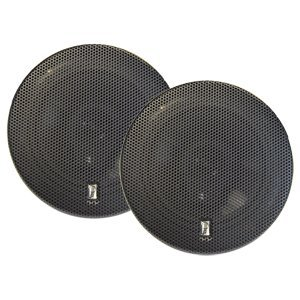"PolyPlanar MA8505B 5"" 3-Way Titanium Series Marine Speakers - (Pair) Black (32436)"