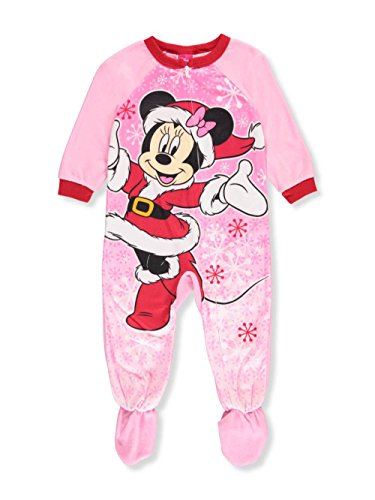 Disney Baby Chistmas Costume Girls' Minnie Mouse Blanket Sleeper (24 Months)